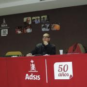 José Luis Pérez, durante el 50 aniversario del movimiento Adsis